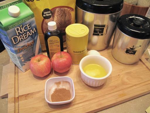 ingredients needed for Apple Pie Pancakes