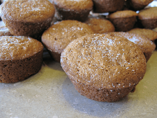 Spicy Ginger Muffins