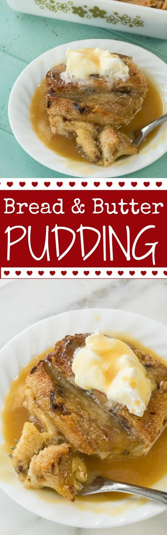 Bread and Butter Pudding Recipe from @kitchenmagpie