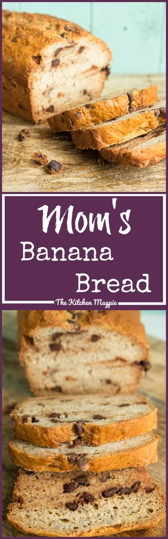 Mom's Best Banana Loaf Recipe - there's a reason that this is a 5 star rated banana bread recipe! It always works! From @kitchenmagpie