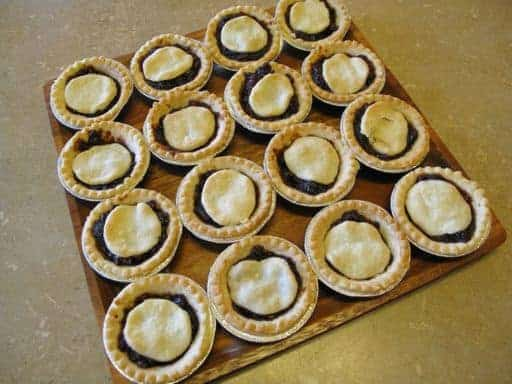 Mincemeat Tarts. In August.