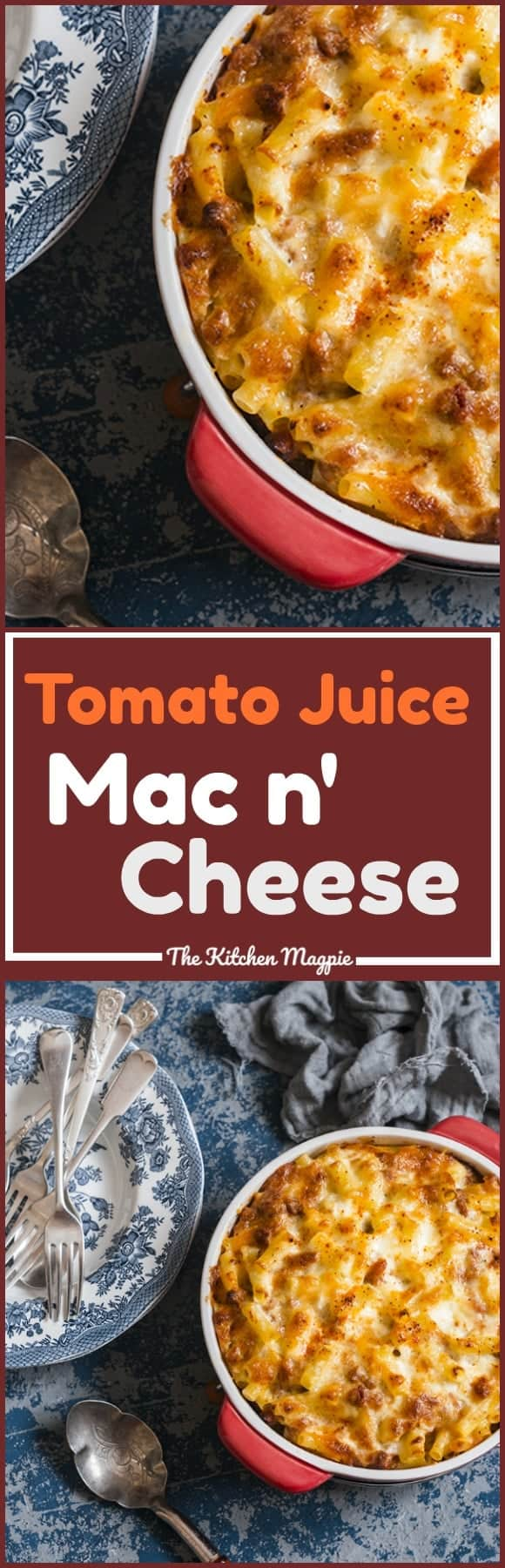 Homemade Mac and Cheese With Tomato Juice. This old fashioned favourite is THE best mac n' cheese ever! Recipe from @kitchenmagpie. #recipe #pasta #cheese