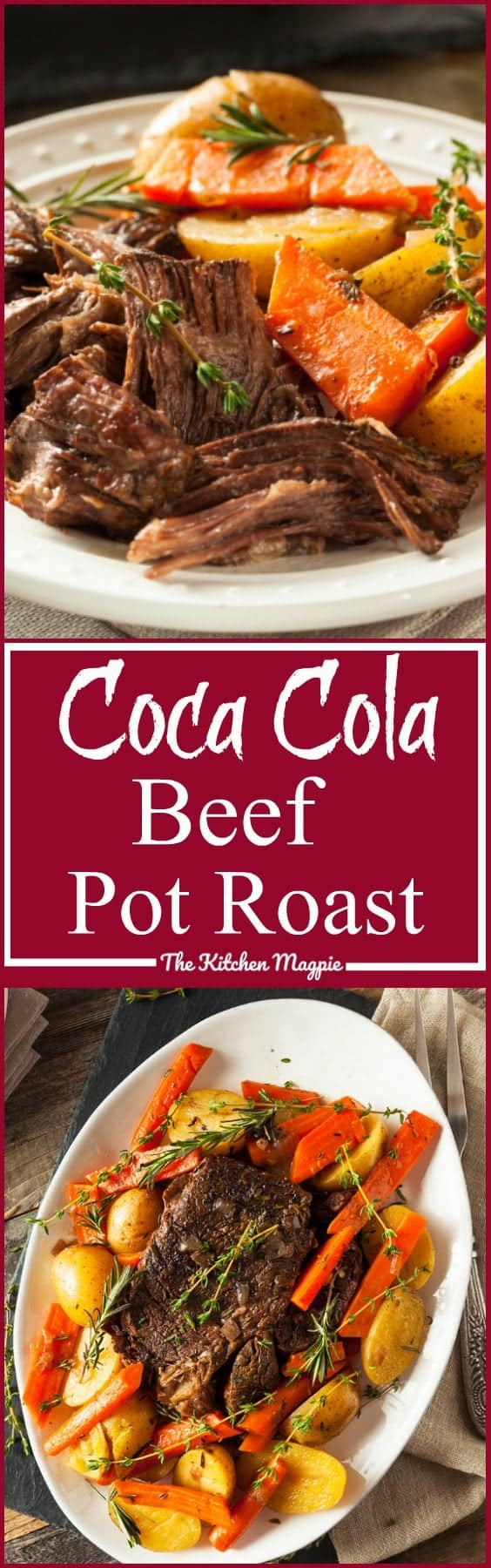 "Beef Coca Cola Pot Roast AKA ""Pop"" Roast! This roast uses soda pop to make the gravy. I was so surprised at how delicious it was! A new fun favourite! from @kitchenmagpie"