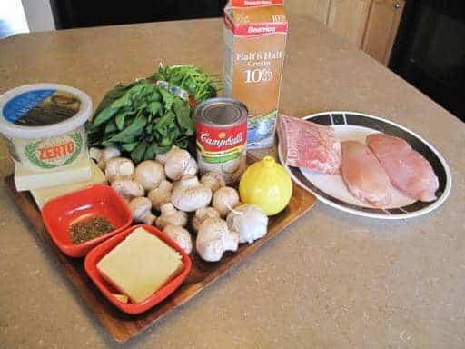 Easy Chicken Florentine - The Kitchen Magpie