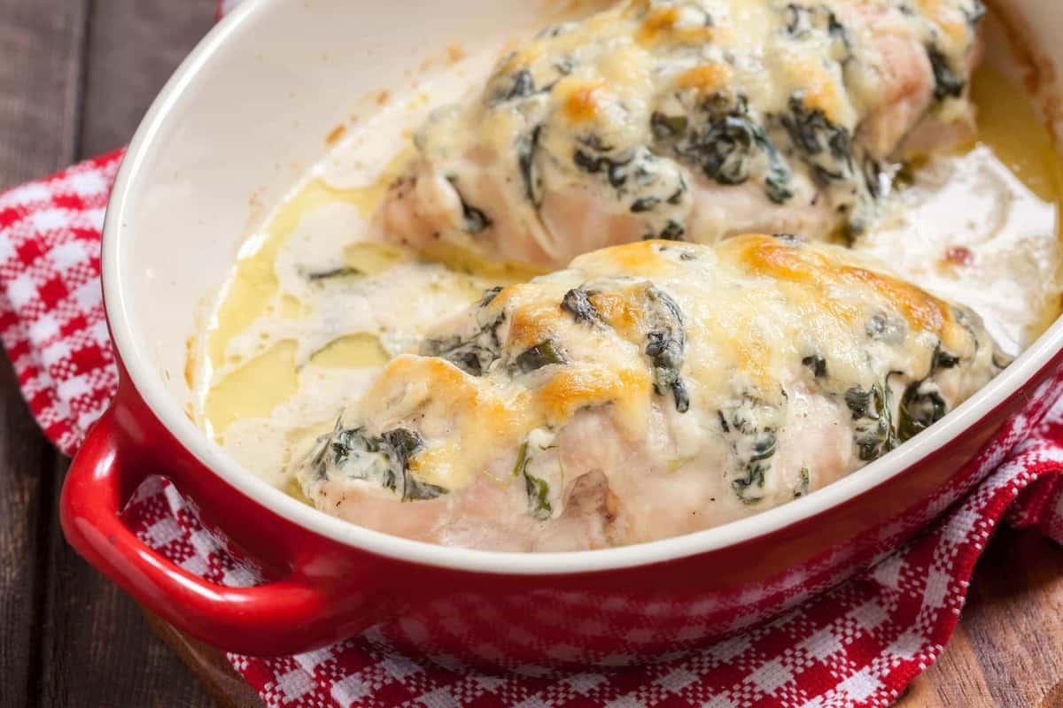 Easy Chicken Florentine The Kitchen Magpie