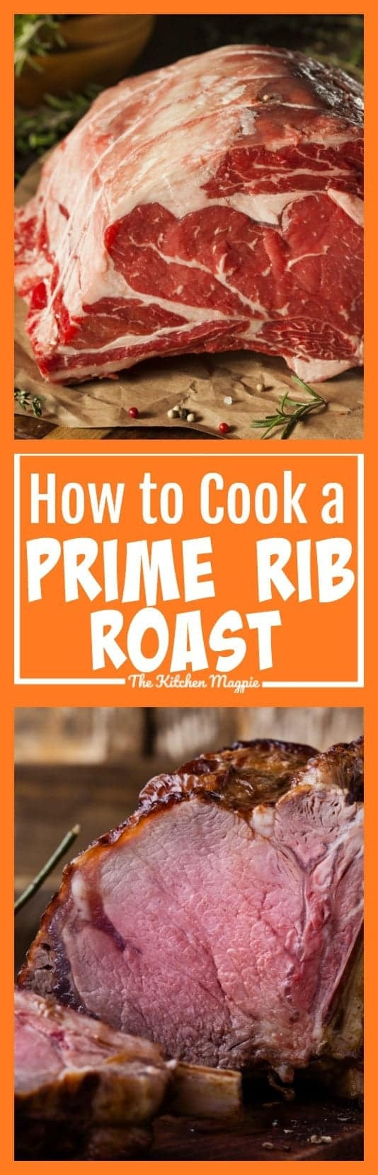 Nothing is better than a prime rib roast! This recipe gives you easy instructions step-by-step on How To Cook a Prime Rib Roast that will wow your family! #roastbeef #recipe #primerib #cooking