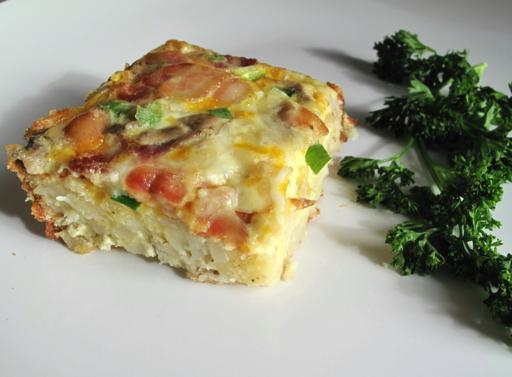 A Slice of Hashbrown Casserole