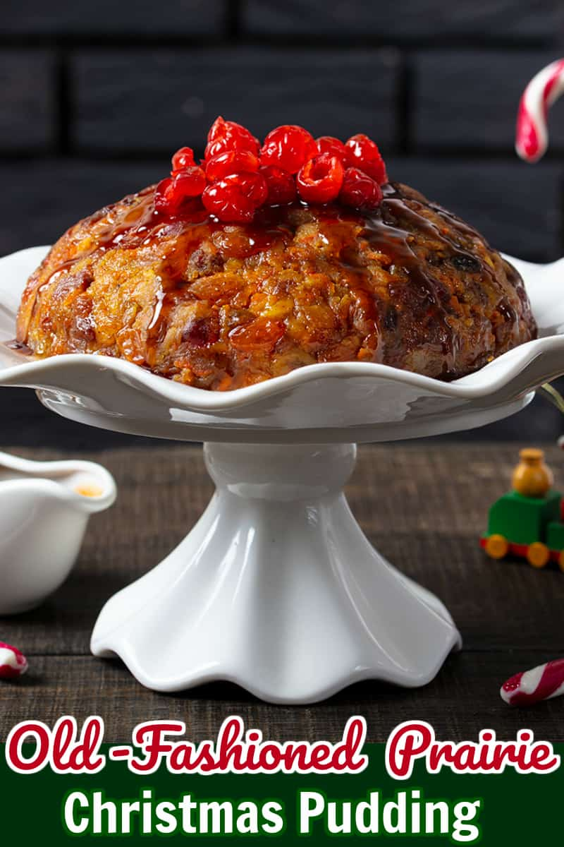 Our traditional Prairie Christmas pudding, served with warm brown sugar sauce and vanilla ice cream. Not to be missed!