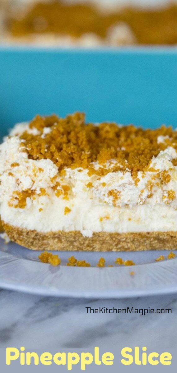 Pineapple slice, a delectable spring and summertime treat that tastes like pineapple heaven. With whipped cream. 'Nuff said. #easter #dessert #pineapple