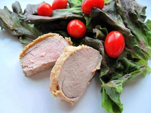 Dijon Crusted Pork Tenderloin