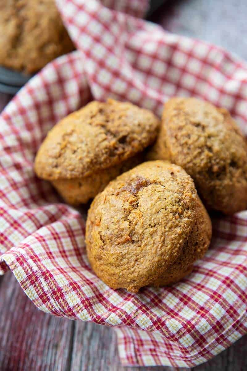 Bran and Carrot Muffins