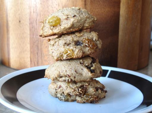 Whole Wheat Hermit Cookies