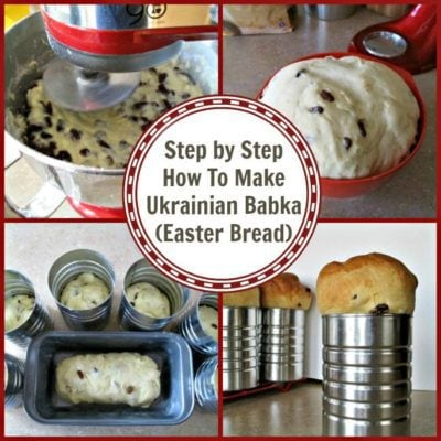 Easter Bread, or Ukrainian Babka Recipe