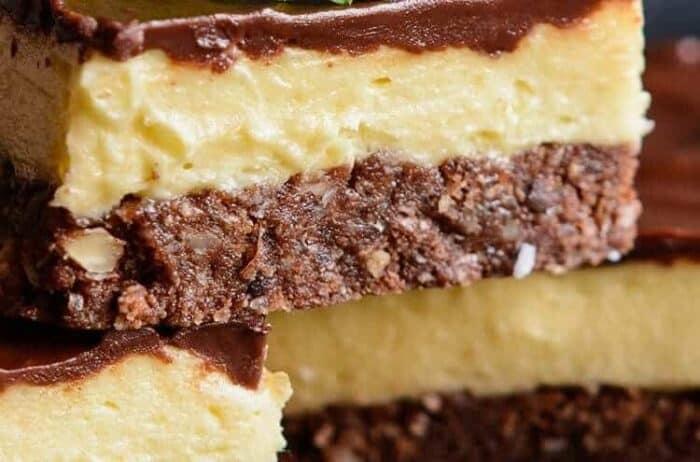 Nanaimo Bars - buttercream custard filled bar