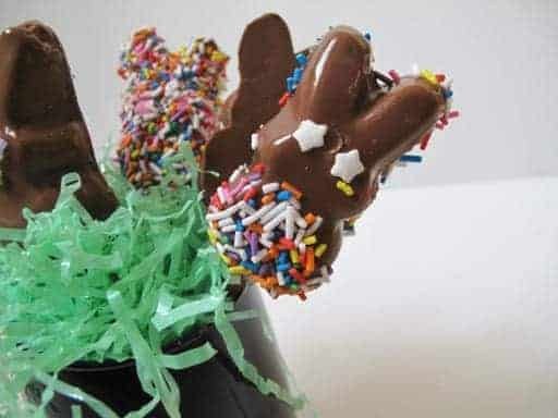 Chocolate Dipped Marshmallow Peeps