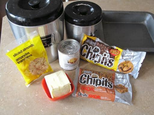 Ingredients needed in making Crack Bars