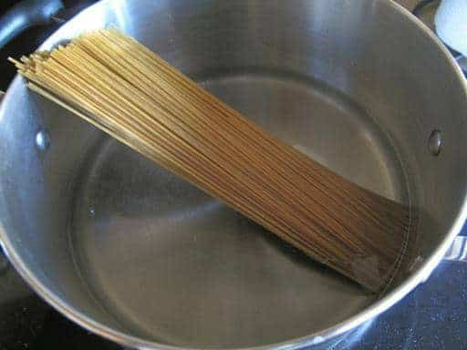 cooking the paste
