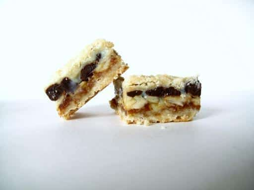 Two pieces of Crack Bars in white background