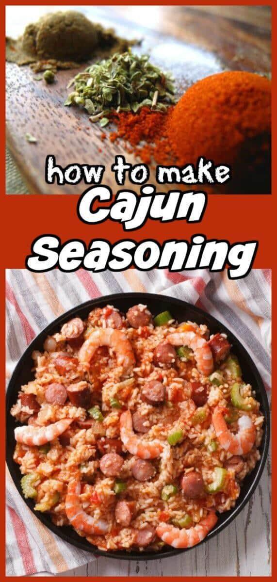 Cajun Seasoning from @KitchenMagpie #cajun #seasoning #spices #rubs #homemade #recipe