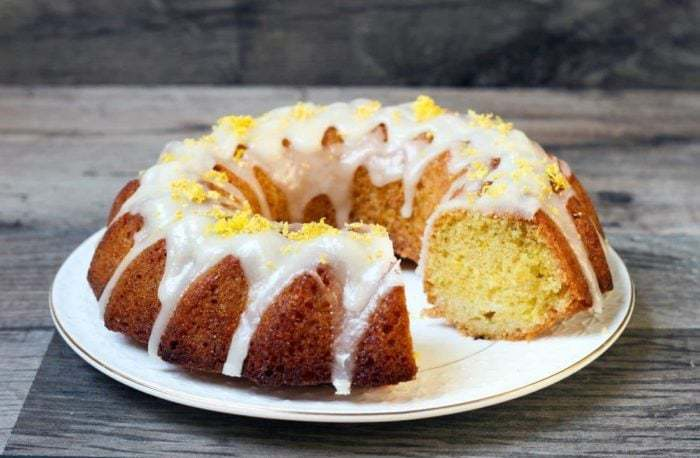 Lemon Bundt Cake from @thekitchenmagpie