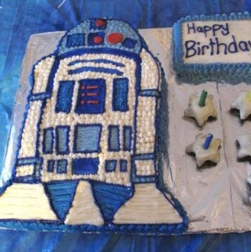 How To: Make an R2-D2 Birthday Cake