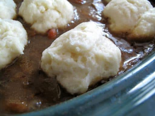 Magpie's Crockpot Dumplings