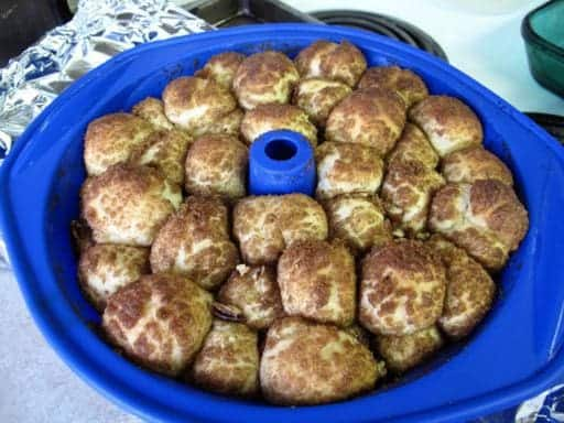 Homemade Monkey Bread from @kitchenmagpie