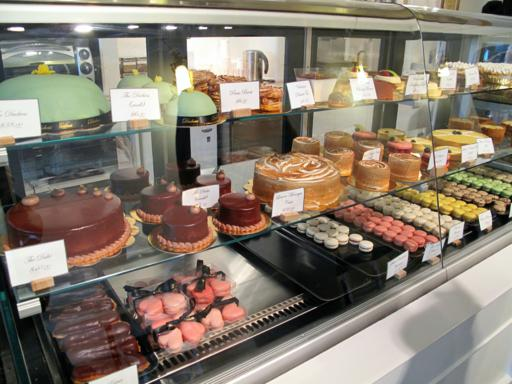 lots of cakes and pastry products inside Duchess Bakeshop