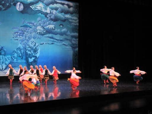 Presentation of the Shumka dancers