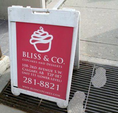 Bliss Cupcakes, Calgary