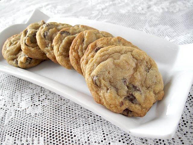 Chocolate Chip Cookie Recipe- Fudge Melt Version - The Kitchen Magpie