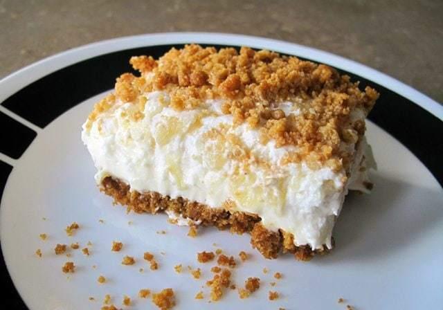 Easter dessert pineapple slice the kitchen magpie for Easy dessert recipes for easter