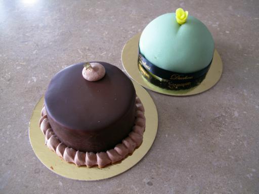 little Duchess and the little Duke Cakes