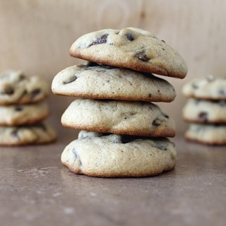 Chocolate Chip Cookie Recipe- Soft, Cakey Version