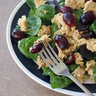 Fast Food:Curry Tuna Salad With Grapes