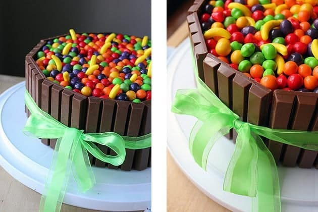 how to make simple birthday cakes