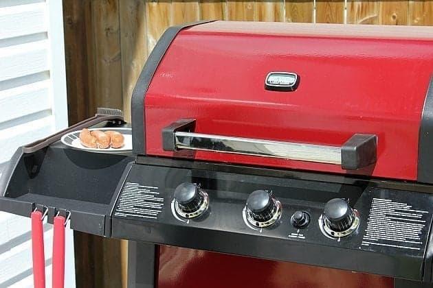 Red BBQ Machine
