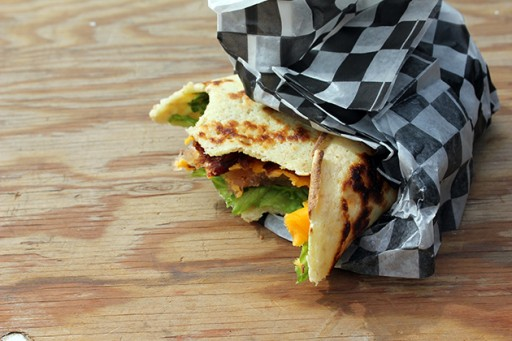 Brig's BLT with a Crepe from the Fork and Spoon Brigade