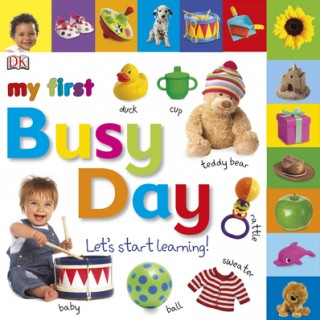 Toddler Book Review: My First Busy Day