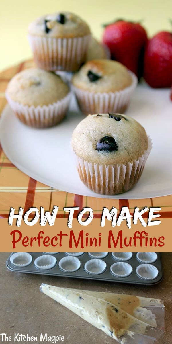 My tips and tricks for making the best mini muffins - with my delicious banana chocolate chip mini muffin recipe! #banana #muffins #kids #chocolatechip