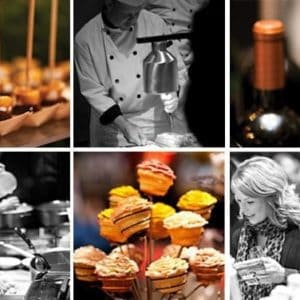 collage of Edmonton Rocky Mountain Food and Wine Fest