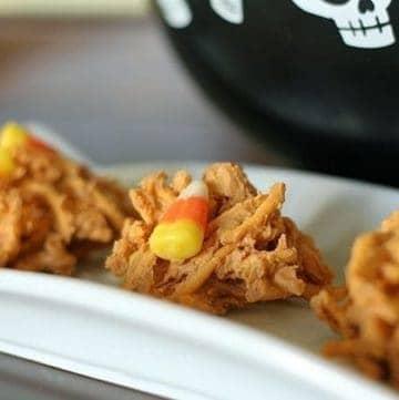 Candy Corn Haystacks