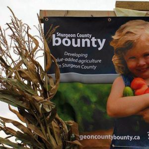 Sturgeon County Bounty 2013 banner
