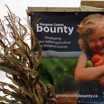 Sturgeon County Bounty 2013