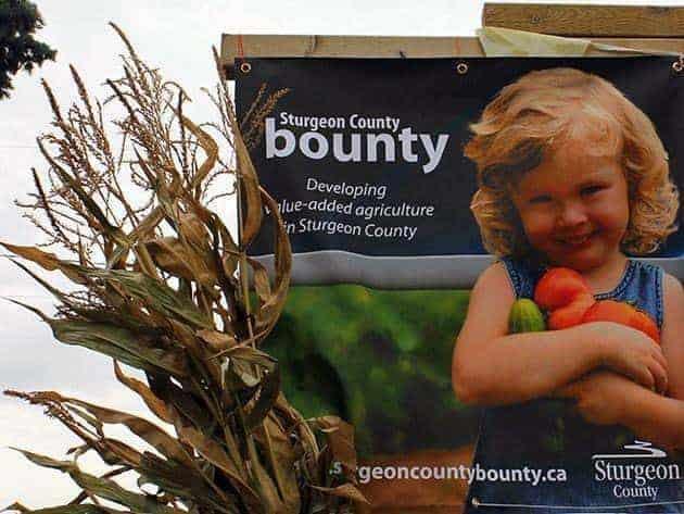 Sturgeon County Bounty 2013 banner