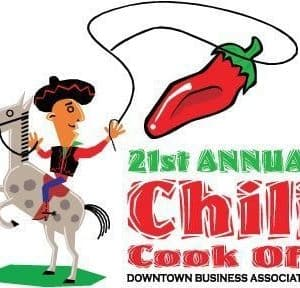 the chili cook off logo