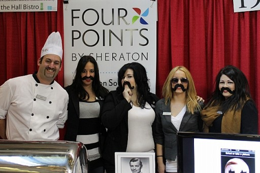 a group of five from the Four Points team