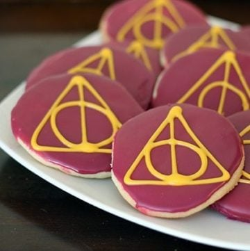Halloween Hits:Harry Potter Deathly Hallows Sugar Cookies