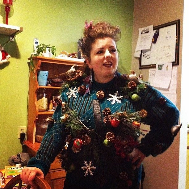 the hostess Ugly Sweater Party