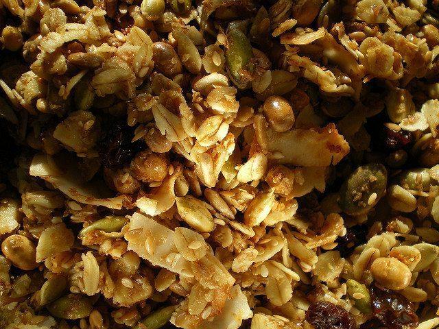 granola clusters recipe